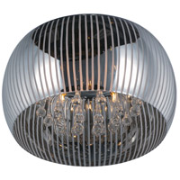 Sense II 5 Light 16 inch Polished Chrome Flush Mount Ceiling Light