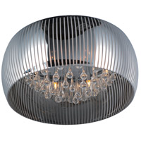 ET2 Sense II 6 Light Flush Mount in Polished Chrome E21403-81PC