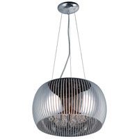 Sense II 5 Light 16 inch Polished Chrome Pendant Ceiling Light