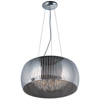 ET2 E21406-81PC Sense II 6 Light 20 inch Polished Chrome Pendant Ceiling Light