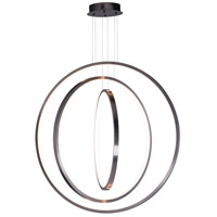 ET2 E21430-BGM Brim LED 32 inch Brushed Gunmetal Suspension Pendant Ceiling Light