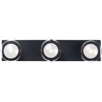 ET2 E21453-93BK Pod LED 22 inch Black Bath Vanity Wall Light
