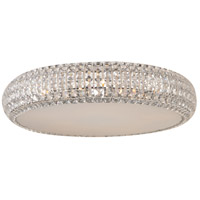 Bijou 4 Light 13 inch Polished Chrome Flush Mount Ceiling Light