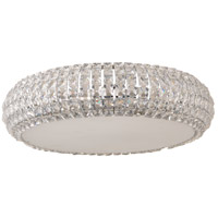 Bijou 6 Light 16 inch Polished Chrome Flush Mount Ceiling Light