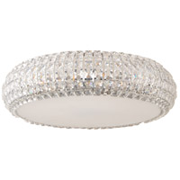Bijou 9 Light 21 inch Polished Chrome Flush Mount Ceiling Light