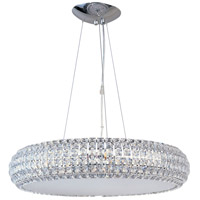 ET2 E21804-20PC Bijou 8 Light 21 inch Polished Chrome Pendant Ceiling Light