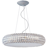 ET2 E21805-20PC Bijou 10 Light 26 inch Polished Chrome Pendant Ceiling Light