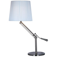 ET2 Tuxedo 1 Light Table Lamp in Satin Nickel E22020-01 photo thumbnail