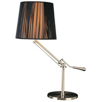 ET2 Tuxedo 1 Light Table Lamp in Satin Nickel E22020-30 photo thumbnail