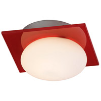 ET2 Buttons 1 Light Wall Sconce in Brushed Aluminum E22022-33 photo thumbnail