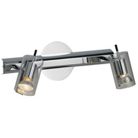 ET2 Flash 2 Light Wall Sconce in Polished Chrome E22026-18