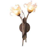 ET2 Bloom 2 Light Wall Sconce in Antique Bronze E22067-26