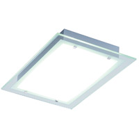 ET2 E22121-24AL Contempra 2 Light 22 inch Brushed Aluminum Flush Mount Ceiling Light in Clear