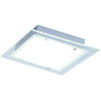 ET2 E22122-24AL Contempra 2 Light 14 inch Brushed Aluminum Flush Mount Ceiling Light in Clear
