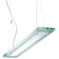 ET2 Contempra 1 Light Pendant in Brushed Aluminum E22124-10