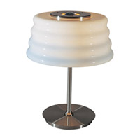 ET2 Signature 1-Light Table Lamp in White E22140-01