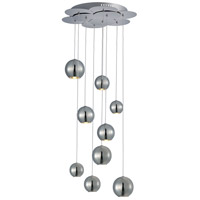 ET2 E22196-PC Bollero LED 17 inch Polished Chrome Linear Pendant Ceiling Light