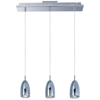 ET2 Bullet 3 Light Linear Pendant in Polished Chrome E22243-PC
