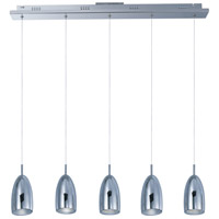 ET2 E22245-PC Bullet LED 34 inch Polished Chrome Linear Pendant Ceiling Light