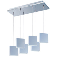 ET2 Brick 6 Light Multi-Light Pendant in Polished Chrome E22266-61PC