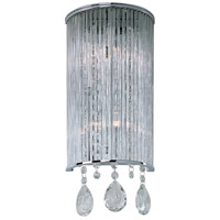 Gala 2 Light 7 inch Polished Chrome Wall Sconce Wall Light