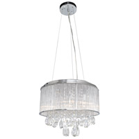 ET2 E22296-18PC Gala 15 Light 23 inch Polished Chrome Single Pendant Ceiling Light