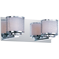 ET2 Mesh 2 Light Bath Light in Polished Chrome E22342-10PC photo thumbnail