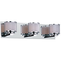 ET2 Mesh 3 Light Bath Light in Polished Chrome E22343-10PC