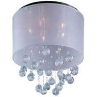 Veil 5 Light 15 inch Polished Chrome Flush Mount Ceiling Light