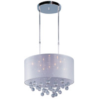 Veil 9 Light 21 inch Polished Chrome Pendant Ceiling Light