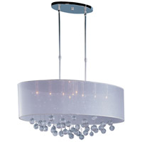 ET2 E22387-120PC Veil 9 Light 14 inch Polished Chrome Pendant Ceiling Light