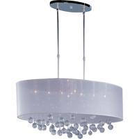ET2 E22387-120PC Veil 9 Light 14 inch Polished Chrome Pendant Ceiling Light