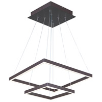 Quad LED 20 inch Bronze Pendant Ceiling Light