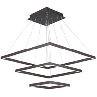 Quad LED 28 inch Bronze Pendant Ceiling Light