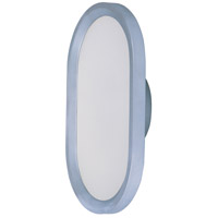 Moonbeam LED 8 inch Metallic Silver ADA Wall Sconce Wall Light