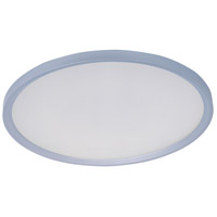 ET2 Moonbeam LED Flush Mount in Metallic Silver E22442-11MS