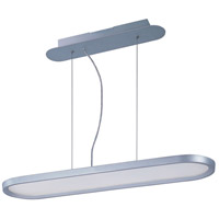 ET2 E22448-11MS Moonbeam LED 32 inch Metallic Silver Single Pendant Ceiling Light