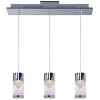 ET2 Tyme 3 Light Island Pendant in Polished Chrome E22466-75PC