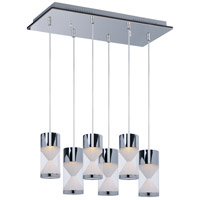 Tyme LED 24 inch Polished Chrome Island Pendant Ceiling Light