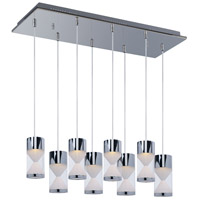 ET2 Tyme 8 Light Island Pendant in Polished Chrome E22469-75PC