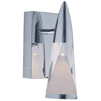 ET2 E22471-75PC FunL LED 5 inch Polished Chrome Wall Sconce Wall Light