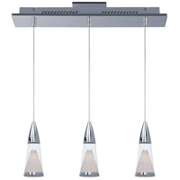 FunL LED 22 inch Polished Chrome Island Pendant Ceiling Light