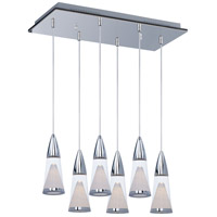 ET2 FunL 6 Light Island Pendant in Polished Chrome E22478-75PC