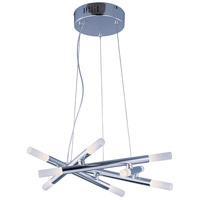 Styx LED 20 inch Polished Chrome Single Pendant Ceiling Light