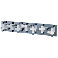 Crossroads LED 34 inch Polished Chrome Bath Light Wall Light in 34.25 in.,  28 Light