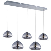 ET2 Vive 5 Light LED Linear Pendant in Polished Chrome E22524-81PC