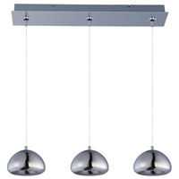 Vive LED 24 inch Polished Chrome Linear Pendant Ceiling Light