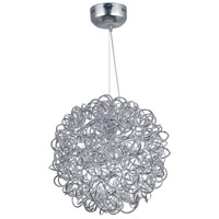 ET2 E22572-PC Dazed 8 Light 20 inch Polished Chrome Pendant Ceiling Light