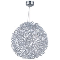Dazed 12 Light 24 inch Polished Chrome Pendant Ceiling Light
