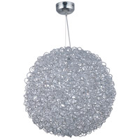 Dazed 15 Light 32 inch Polished Chrome Pendant Ceiling Light